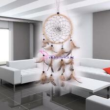 Modern Style Dream Catcher with Feathers Wall Hanging Decoration Decor Craft Kit