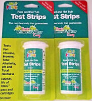 2 Pack Frog Pool & Spa Test Strips - 100 Count - 01-14-3318