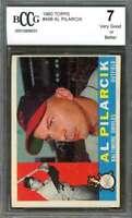 Al Pilarcik Card 1960 Topps #498 Baltimore Orioles BGS BCCG 7