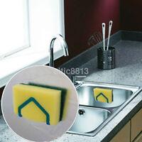 Kitchen Tool Organizer Storage Dish Cloth Sponge Holder Suction Cup Sink Holder^