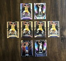 Lot (8) 2019-20 Panini Prizm Basketball Steph Curry Silver, Hyper & Base NBA