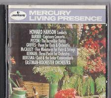CD - MERCURY LIVING PRESENCE -  HANSON , KENNAN ; PISTON ; BARBER ... -  #P121#