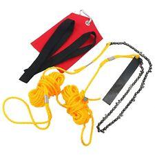 24 Inch Rope Chain Saw HIGH REACH LIMB Chain Saw Pocket Chainsaw Rope Chainsaw