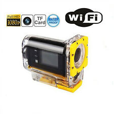 1080P Full HD 30M Waterproof WIFI Sports Action Camera Video Cam Recorder SJ3000