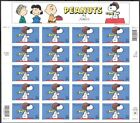 Peanuts - Snoopy Full Sheet of Twenty 34 Cent Stamps Scott 3507 By USPS