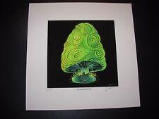 JAMES EADS Giclee Print GRUMPY CAP Night Caps Mushroom poster art