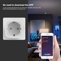Smart WIFI EU Steckdose WLAN Socket Apple Homekit APP Siri Stimme Steuerung IOS
