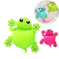 Cute Cartoon Kids Toothbrush Toothpaste Holder Wall Mounted Suction Cup Bathroom