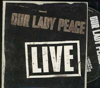 OUR LADY PEACE Live 4 TRACK USA PROMO CD EP IN CARDSLEEVE