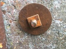 L@@k GEOCACHE RUSTY BOLT CACHE WITH LARGE WASHER -READY TO HIDE