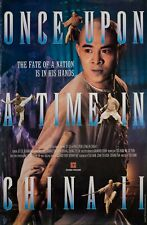 Once Upon a Time in China II 1992 Hong Kong B1 Poster