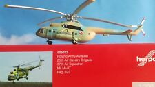 555623 Poland Army Aviation 37th Air Squadron Mil Mi-8T herpa wings 1:200 *RARE*