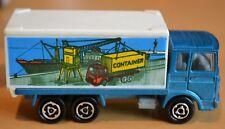 RARE Majorette Model Saviem Container Truck 1:100 - VNM