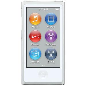 New! ipod nano 7th generation 16GB MP3 Player--90days Warranty