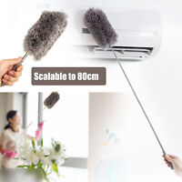 Soft Microfiber Feather Dust Cleaner Dusting Brush Home Car Fans Cleaning Tool