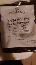 Callebaut Cocoa Powder 22/24% 6.8-7.2 pH  Dutch processed worlds finest cocoa