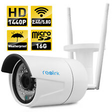 Reolink dural mode 2.4G/5.8G wireless IP Camera 4MP P2P Built-in 16GB Micro sd