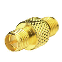 RP-SMA Female Plug Male Pin to SMA Female RF Coaxial Connector coupler Adapter