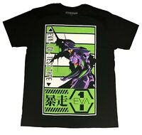 EXCLUSIVE Evangelion EVA Unit 01 Test Type Berserk Mode Authentic T-Shirt #34761