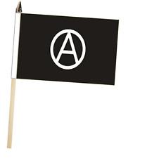 Anarchy Punk Black and White Large Hand Waving Courtesy Flag