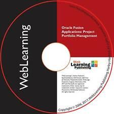 Oracle Fusion Applications/Cloud:Project Portfolio Management Implementation CBT