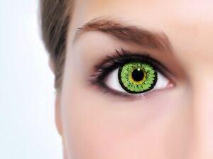 """BigEyes braun Circle Lenses """"Angel Green"""" ohne und mit Stärke + GRATIS Behälter"""