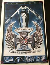 Orange County Choppers Poster Pin-Up Tank Cross Motorcycle Parts Starmakers OCC