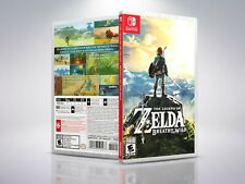 Zelda: Breath of the Wild - Switch - Replacement - Cover/Case - NO Game