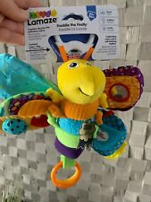 Lamaze Play & Grow Freddie the Firefly-Clip on Pram/Buggy , Development Toy