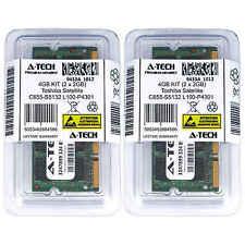 4GB KIT 2 x 2GB Toshiba Satellite C655-S5132 L100-P4301 L100-P4321 Ram Memory