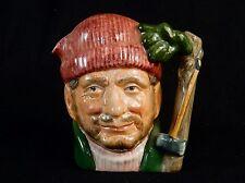 "Toby Character Jug (Small) ~ ""The Lumberjack"" ~ Royal Doulton #D6613, TOBY_J05"