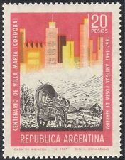 Argentina 1967 Ox/Wagon/Buildings/Architecture/Animals/Transport 1v (n24223)