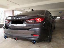 Rear Trunk Lip Spoiler for Mazda 6 / Atenza GJ 2012-2017 Color 42S TitaniumFlash