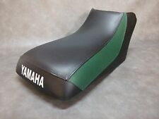 Yamaha Timberwolf 250 Seat Cover  in 2-TONE BLACK & GREEN or 25 colors  (ST/A)