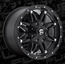 Fuel Hostage 17x8.5 5x110/5x5  ET38 Matte Black Wheels (Set)