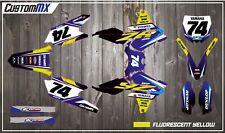 Yamaha Graphics Kit: YZ YZF WR WRF 85 125 250 450 426 & All Restyle Plastics