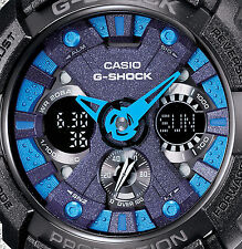 CASIO G Shock GA-200SH-2A Velocity Indicator Black Metallic Color Cool Design