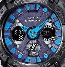 CASIO G Shock GA-200SH-2A Velocity Indicator Black Metallic Color Cool Design