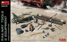 Miniart 1/35 herramientas de ferrocarril & equipos # 35572