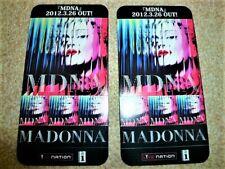 MADONNA - MDNA :  JAPAN promo-only Sticker : very rare