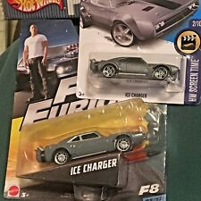 Ice Charger LOT Dom's F&F Movie Replicas Fast Furious Hot Wheels & Mattel 1:55