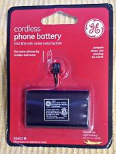 GE Cordless Phone Battery 3.6V 800mAh Nickel Metal Hydride 36402 Uniden+ NEW