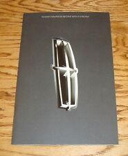 Original 2007 Lincoln Full Line Portfolio Sales Brochure 07 MKX MKZ Mark LT