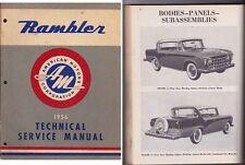 1956 RAMBLER AMERICAN MOTORS Factory Workshop Manual