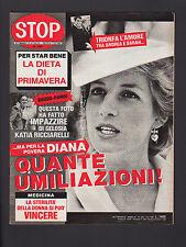 STOP 1957/1986 LADY DIANA CARRA' SCHWARZENEGGER F1 FERRARI MADONNA SEAN PENN