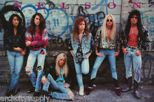 POSTER :MUSIC : NELSON - GROUP POSE WITH BAND - FREE SHIPPING !   #8128   RAP6 D