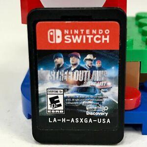 Street Outlaws: The List (Nintendo Switch, 2019) Cartridge Only LA-H-ASXGA-USA