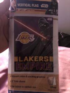L.A Lakers Darth Vadar Empire Star Wars Flag NBA
