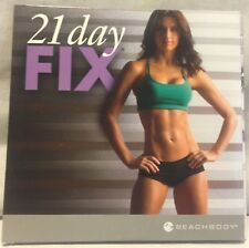 21 Day Fix 2 Disc set, DVDs ONLY, total body cardio upper lower pilates dirty 30
