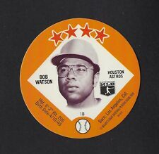 1978 MSA Big T / Tastee Freez Discs BOB WATSON Houston Astros MINT